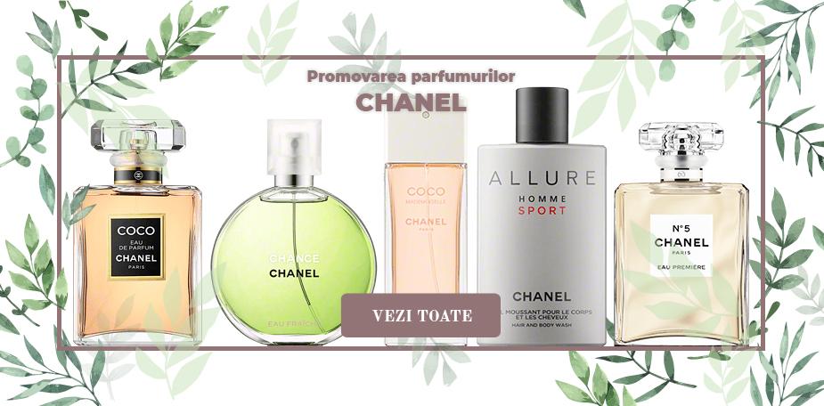 Promovarea parfumurilor CHANEL