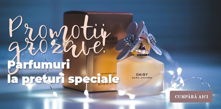 Promotii grozave! Parfumuri la preturi speciale