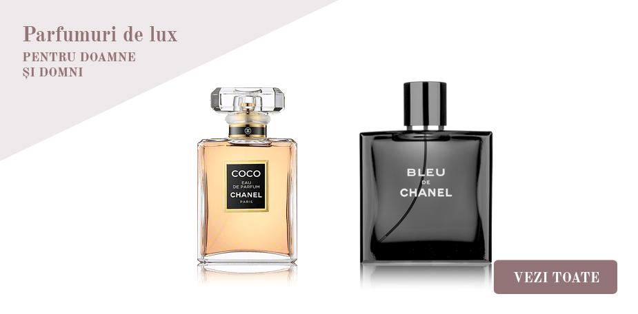 Parfumuri de lux pentru doamne  și domni